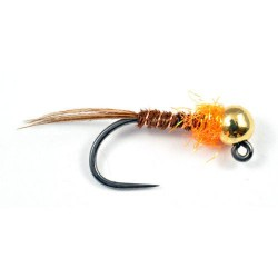 Orange thorax pheasant tail size 12, 14, 16