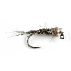 Silver bead black nymph