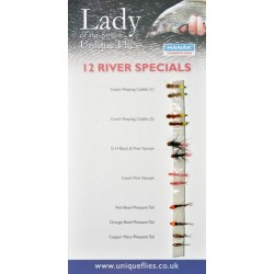 12 River Flies (Pack)