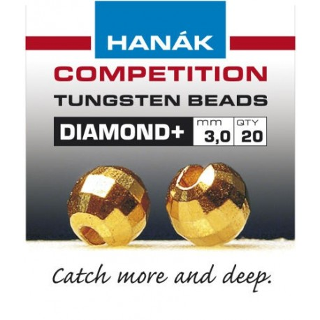 Diamond Gold Competition Tungsten Beads