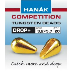 Gold Drop+ Competition Tungsten Beads