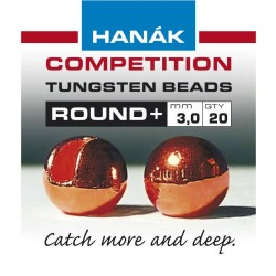 Round Copper Competition Tungsten Bead
