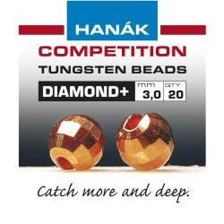 Diamond Copper Competition Tungsten Beads