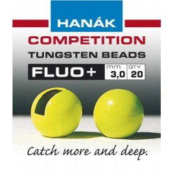 Fluo Lime Green Competition Tungsten Beads
