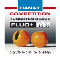 Fluo Orange Competition Tungsten Beads