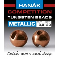 Hanak Metallic + Brown Competition Tungsten Beads