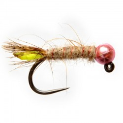 Metallic Pink Caddis