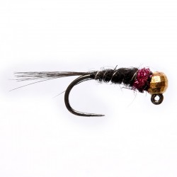 Gold Head Black And Claret Jig