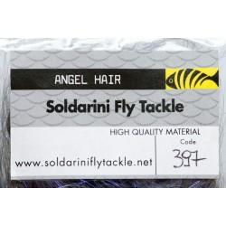 UV Black - 397 - Angel Hair - Soldarini Fly Tackle