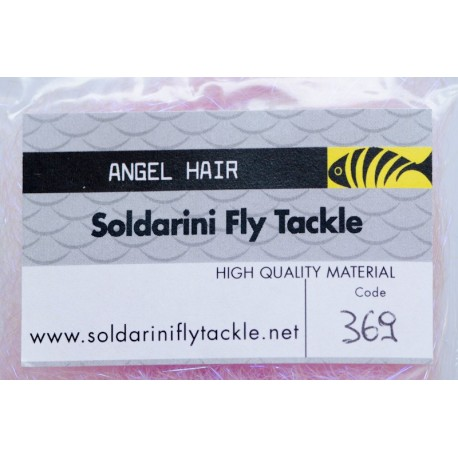 UV Violet - 369 - Angel Hair - Soldarini Fly Tackle