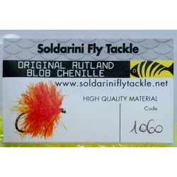 Flouro Yellow - 1060 - Blob Chenille - Soldarini Fly Tackle