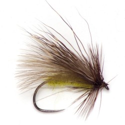 CDC and Elk Caddis dry fly