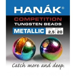 Metallic Rainbow Beads