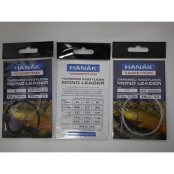 Hanak competition Tapered Knotless Mono leader