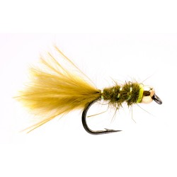 Tungsten Gold Bead Mini Damsel
