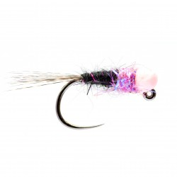 Sandro's Special, Salmon Pink Bead Jig Nymph