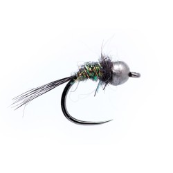 Spectra Nymph Gold, Silver and Black bead