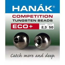 Eco + Black Nickle - Tungsten Beads - 50