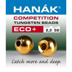 Eco + Gold - Tungsten Beads - 50