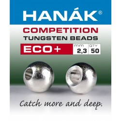 Eco + Silver - Tungsten Beads - 50