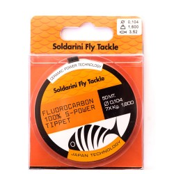 Fluorocarbon 100% S-Power Tippet