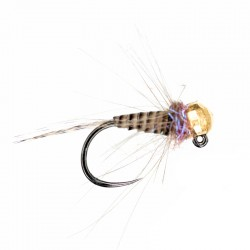 Lewis's Quill & Violet gold bead