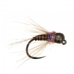 Lewis's Quill & Violet black bead