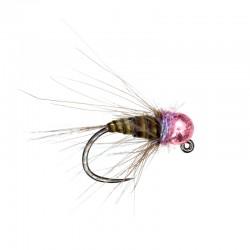 Lewis's Quill & Violet metallic pink bead