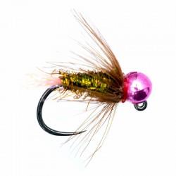 Spectra Pink Tail Metallic Pink Jig