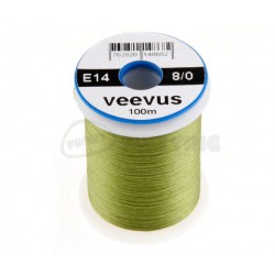 Veevus 8/0 thread - Fluoro Yellow Chartreuse
