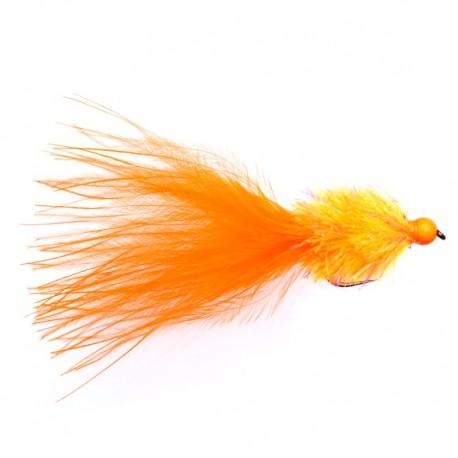 Triple Tone Orange Bead Streamer