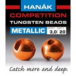 Hanak Metallic + Orange Competition Tungsten Beads
