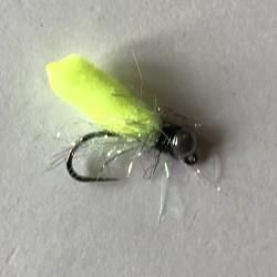 Mop Flies - Fluo orange Size 12 jig 3.5 ml orange tungsten bead