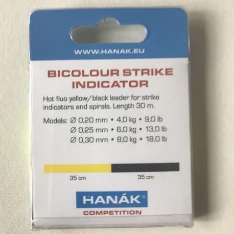 Bicolour Indicator - Black Yellow - 30m