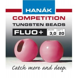 Fluo Pink Competition Tungsten Beads