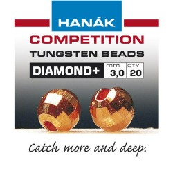 Diamond Copper Competition Tungsten Beads