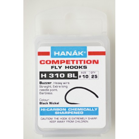 H310 BL Buzzer - Hanak Competition Fly Hoooks