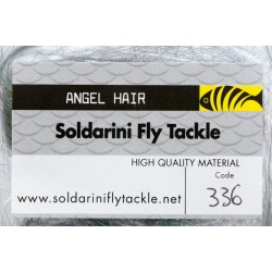 Peacock Green- 336 - Angel Hair - Soldarini Fly Tackle
