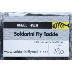 Black - 390 - Angel Hair - Soldarini Fly Tackle