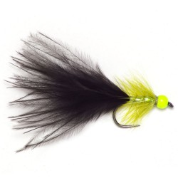 Lime Bead Olive and Black Dancer