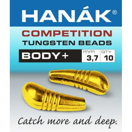Hanak Tungsten Body Beads
