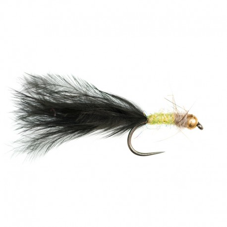 Tungsten Hares Ear Lime Nymph Short Shank